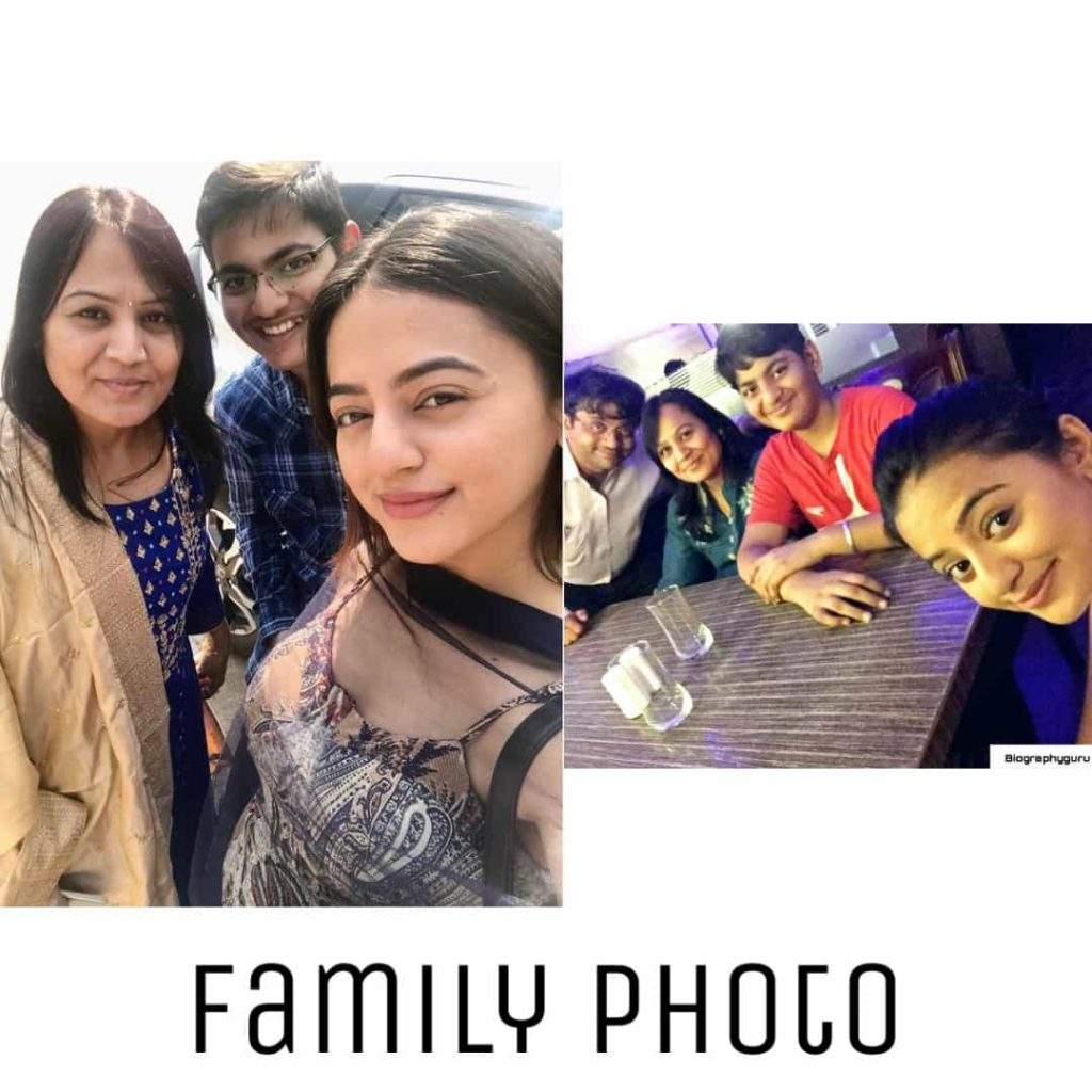 Helly Shah family photo