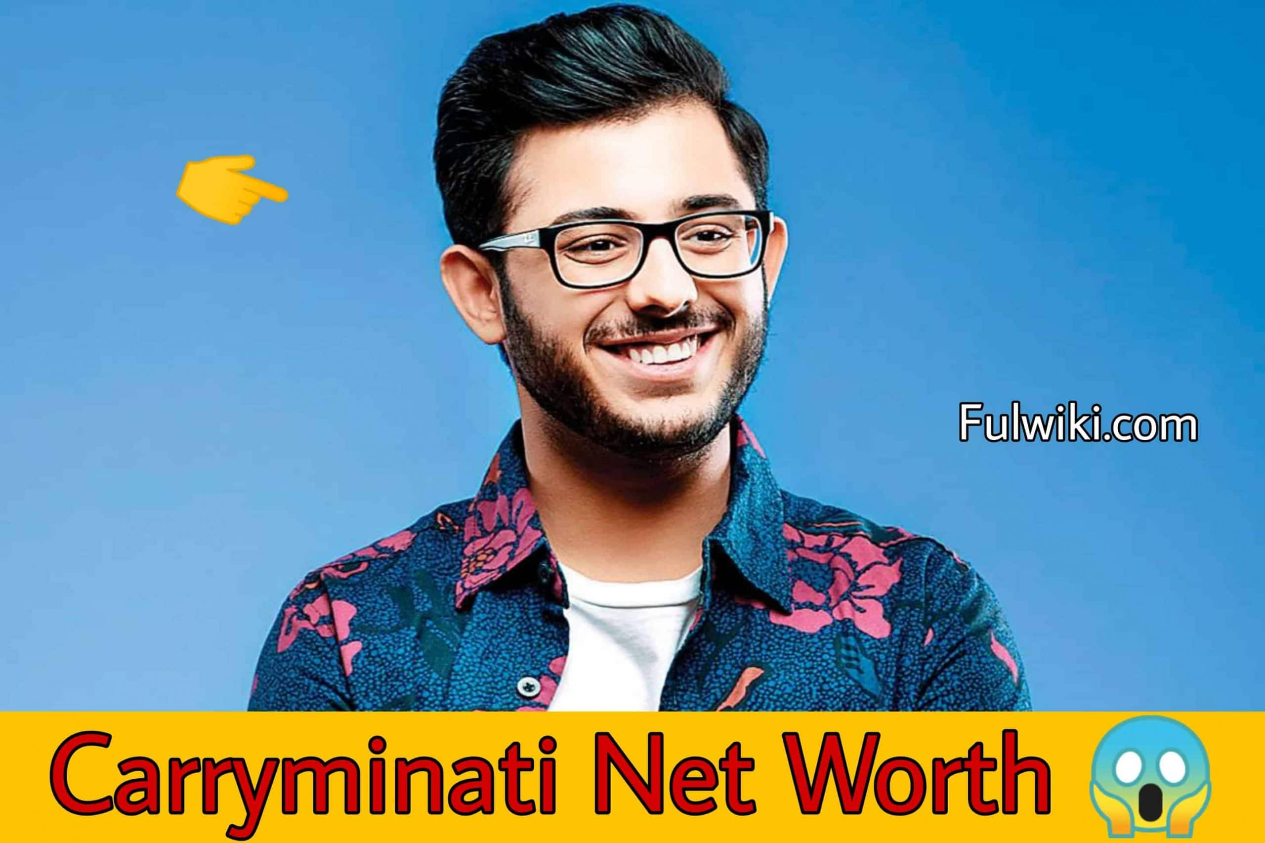 Carryminati Net Worth