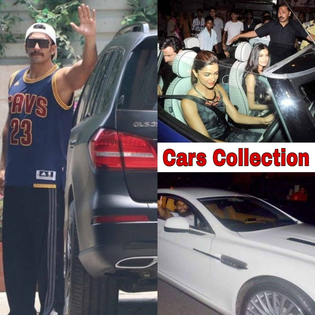 Deepika Padukone net worth, Cars Collection