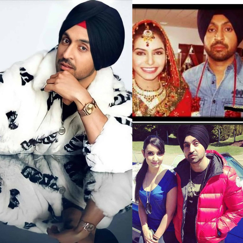 Diljit Dosanjh Wife name